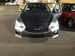 infiniti q50 front-headlights